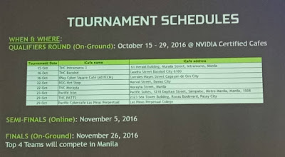 GEXT DOTA 2 Tournament Schedules