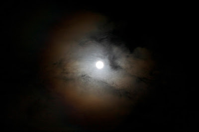 red ring around moon is a corona