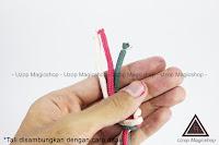 Jual alat sulap Rainbow Rope menyambungkan tali