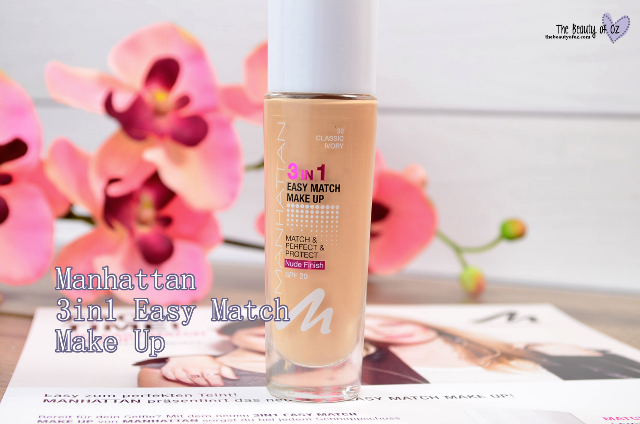 Produktversprechen Manhattan Easy Match Make Up