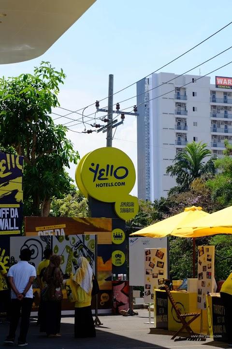 Kemeriahan Opening Yello Hotel Surabaya
