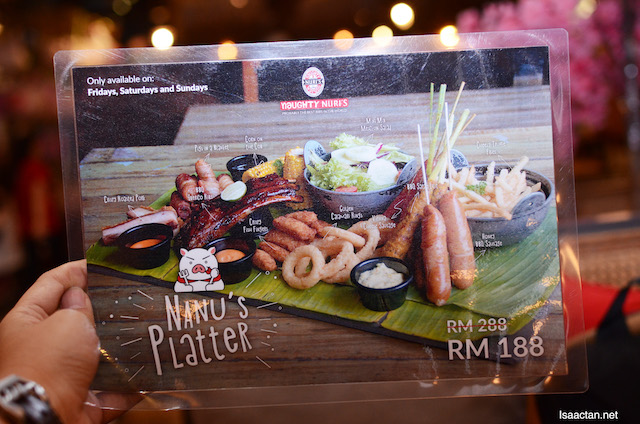 Current on-going promotion of RM188 versus their usual price of RM288
