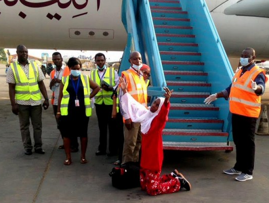 nigerians rescued in libya