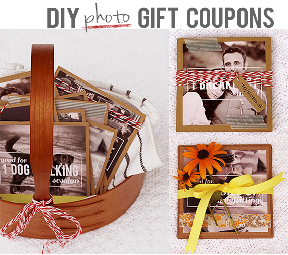Make your own DIY gift coupons