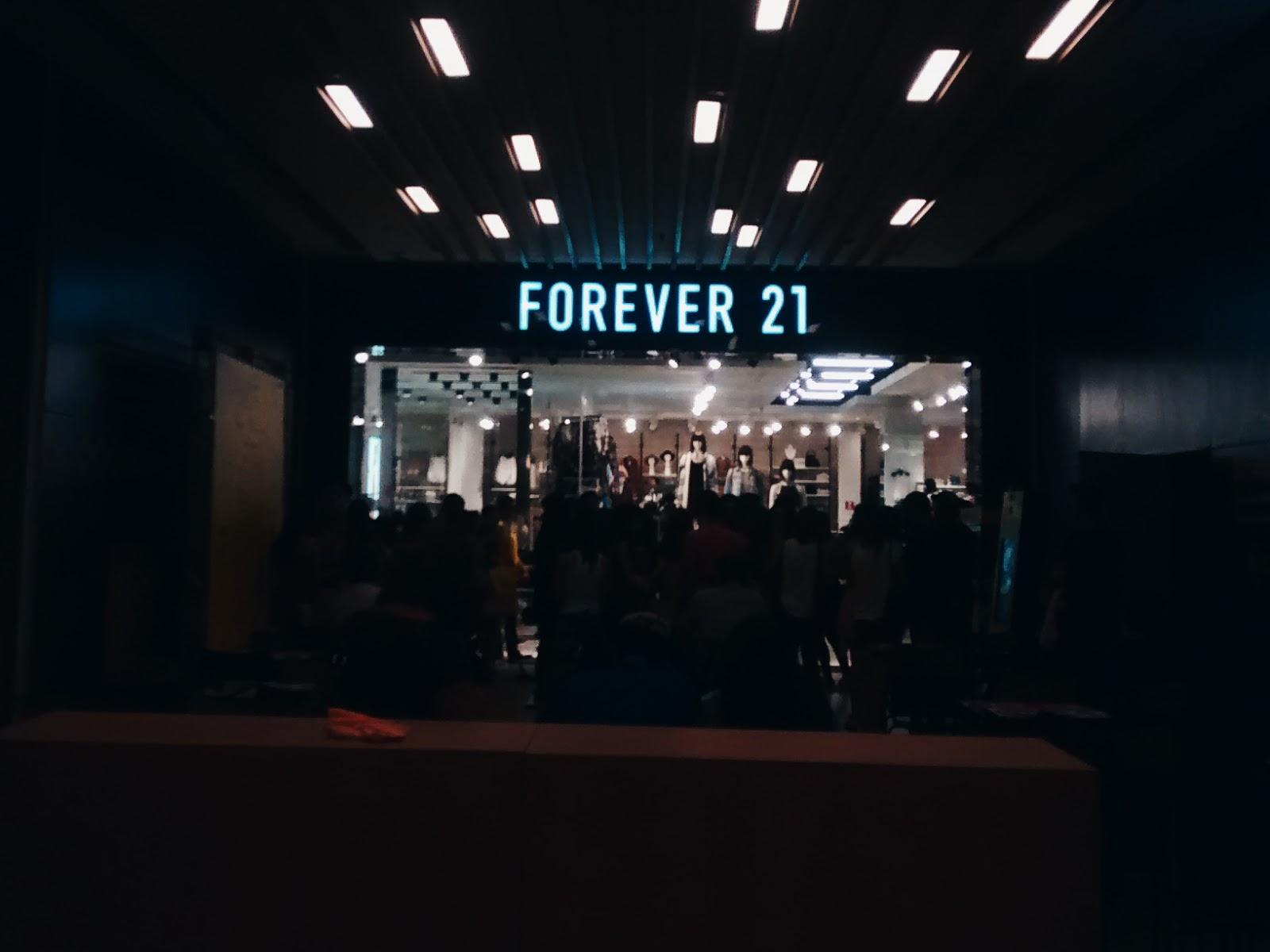 a96bf841657 Eu fiquei super feliz quando soube que iria abrir uma Forever 21 na avenida  Paulista