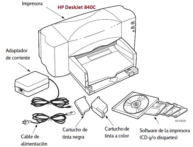 Impresora Inyecci 211 N De Tinta Hardware De Un Computador