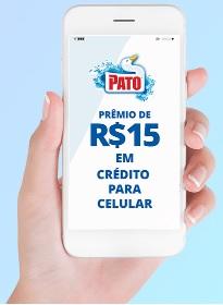 Cadastrar Promoção Produtos Limpeza Pato Créditos Celular