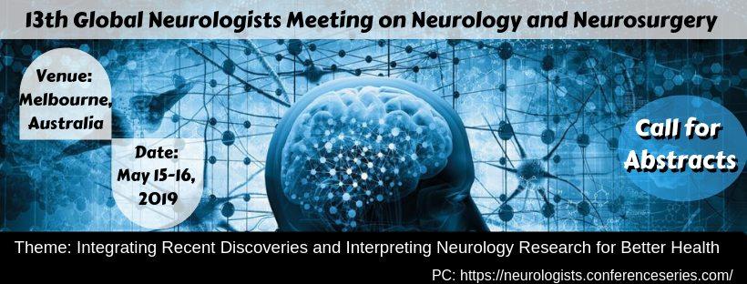 13th Global Neurologists Meeting on Neurology and