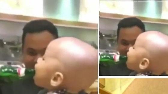 Video Heboh Bapak Kasih Minum Bir Pada Balita Yang Jadi Viral