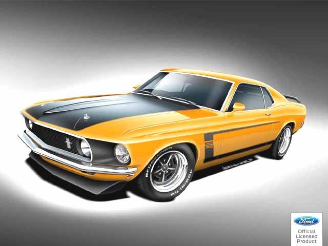 The most iconic Ford Mustang come back to life