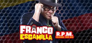 FRANCO ESCAMILLA R.P.M en Bogotá 2019