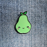 Kawaii Pear Lapel Pin