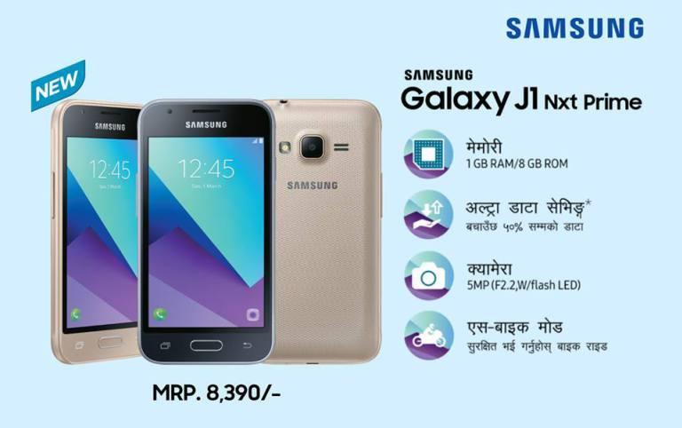 Samsung J1 Nxt Prime