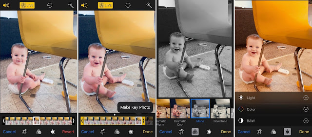 Cara Menggunakan Live Photos Terbaru di iOS 11