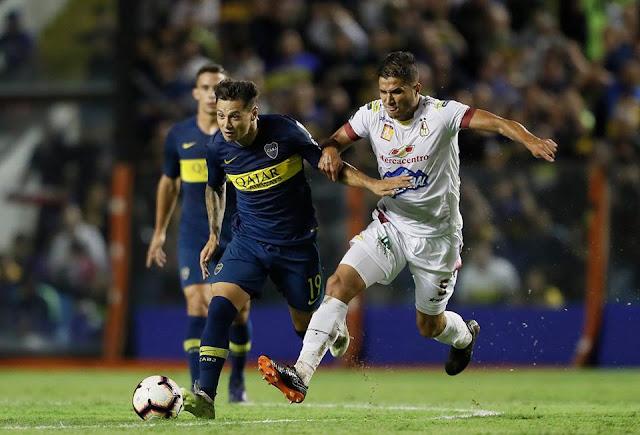 Boca y Palmeiras ganan con holgura