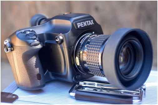 Pentax 645D DSLR Camer