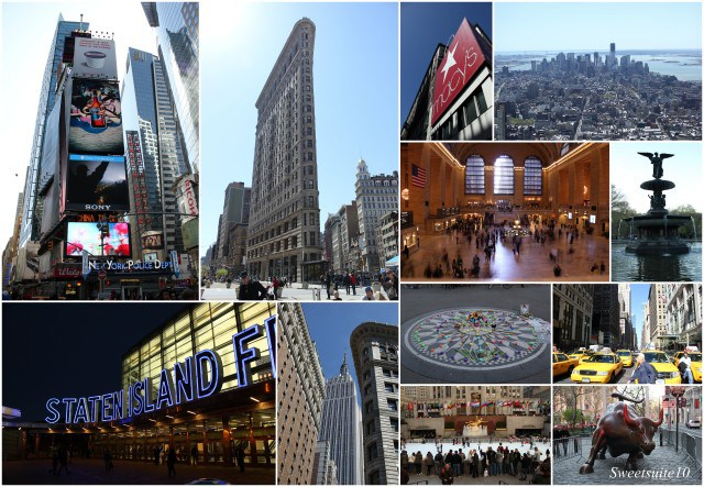 New York city at a glance