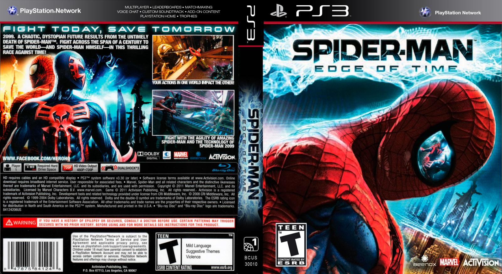 Spider Man Edge Of Time Pc Download Spectrummemo