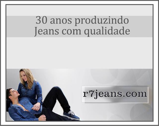 Conheça R7 Jeans a mais nova parceria do blog