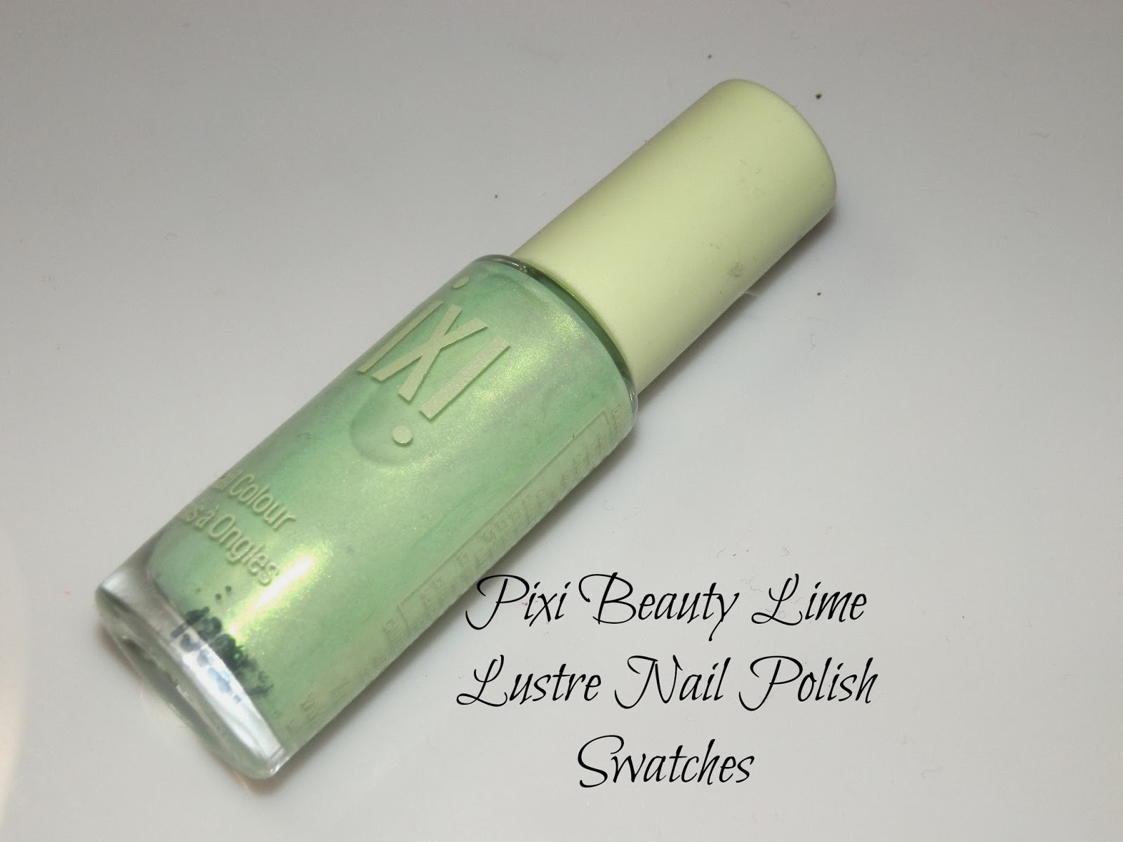 Pixi Beauty Lime Lustre Nail Polish