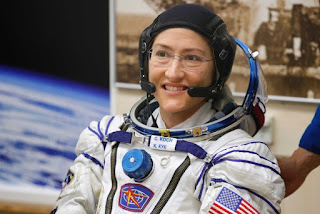 Christina Koch is Set to Return to Earth