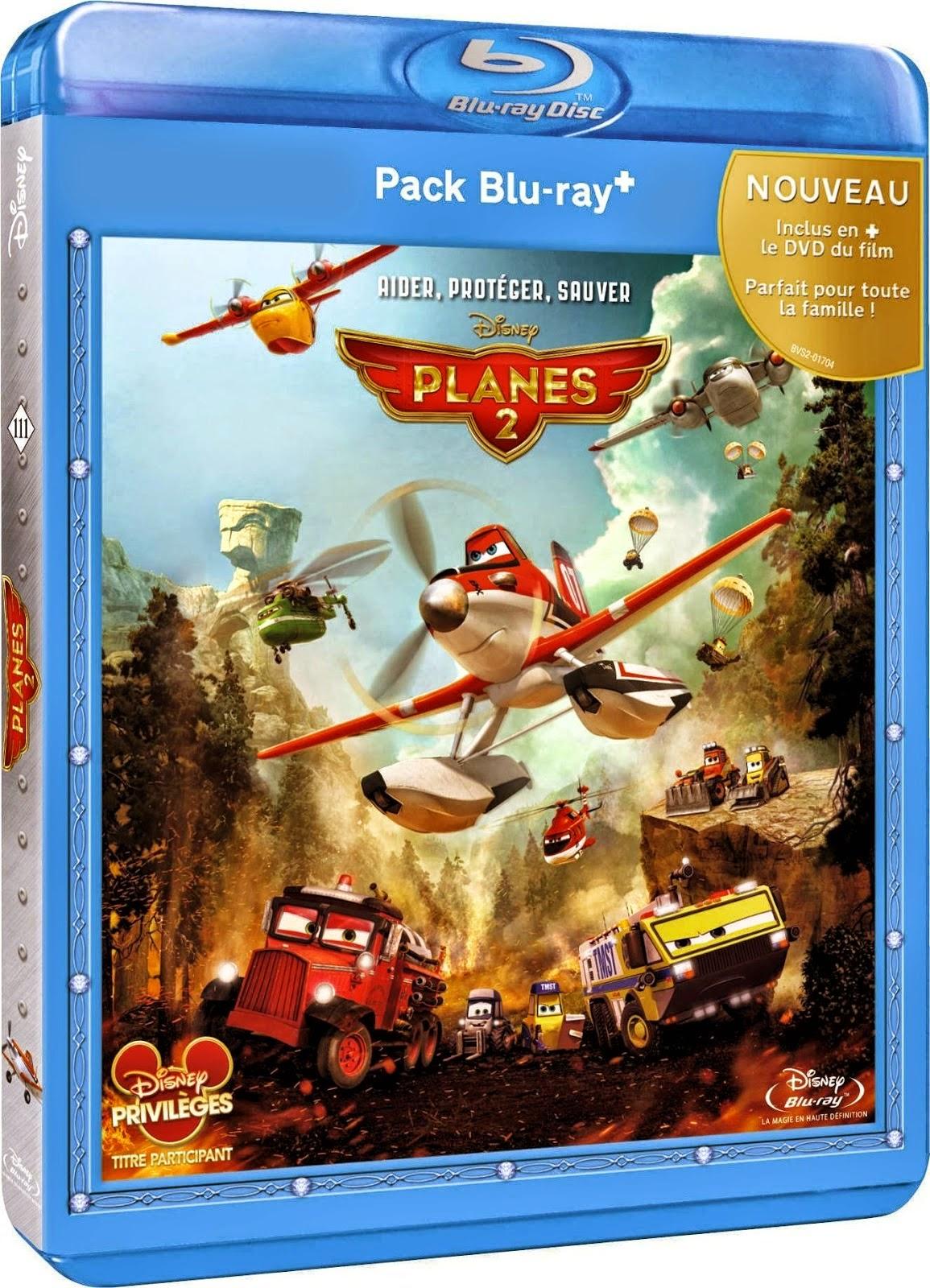 Aviones 2 Equipo De Rescate (2014) 1080p BD25