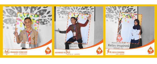 Profil Relawan Kelas Inspirasi Brebes #3 SDN Kalipucang  Adi Irawan, Akhmad Irfai, Ika Sech Syarini