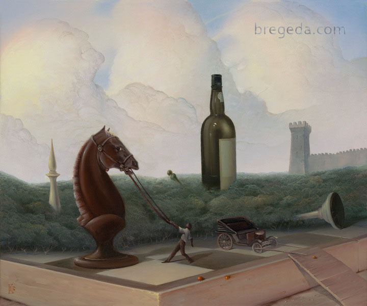 08-Game-Over-Victor-Bregeda-Surreal-Paintings-Encapsulating-a-Message-www-designstack-co