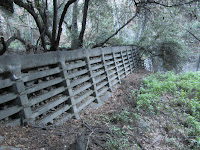 Check dam in Monrovia Canyon