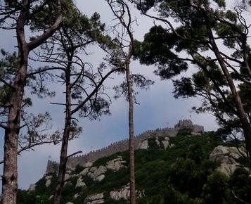 sintra castelo dos mouros portugal itinerario primer viaje a europa