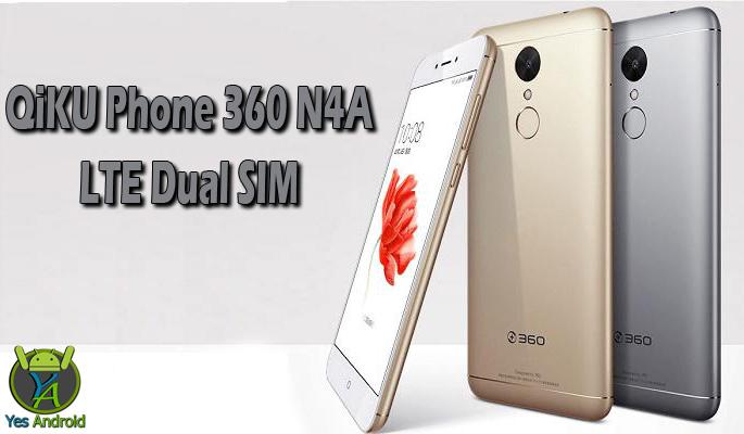 QiKU Phone 360 N4A LTE Dual SIM Full Specs Datasheet