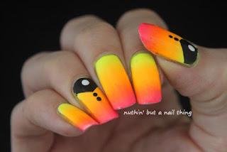 neon nail art design ideas