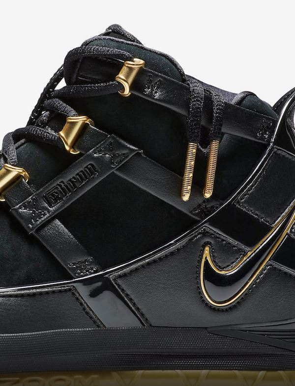 7caf6be65921 THE SNEAKER ADDICT  Nike Zoom LeBron 3 Metallic Gold Retro Sneaker ...