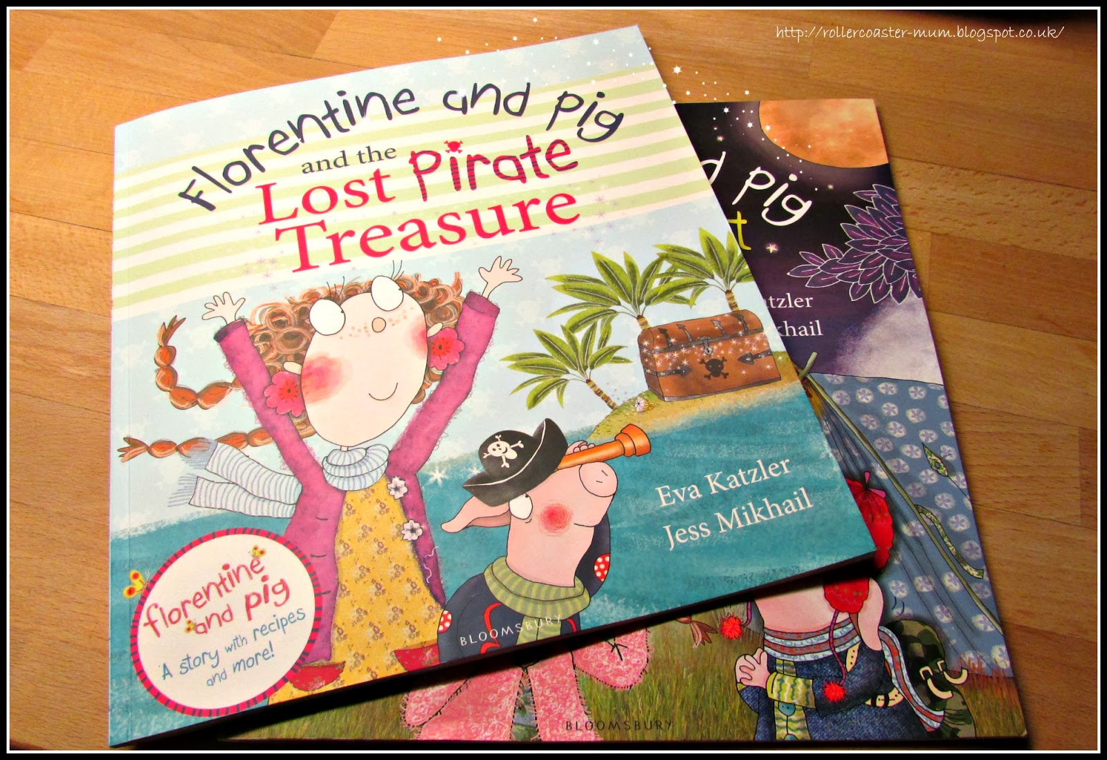 book review of Florentine and Pig and the Lost Pirate Treasure