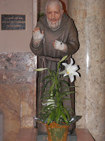 St. Pio statue in Newark NJ