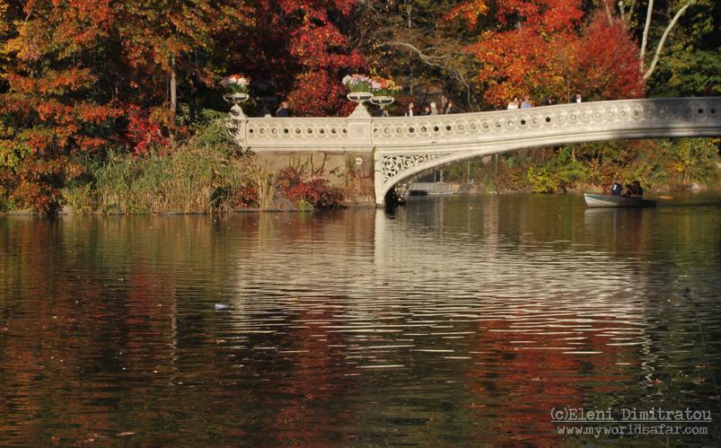γεφυράκι του Central Park Νέα Υόρκη