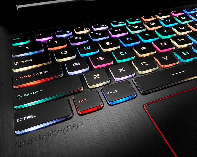 The GE63VR / 73VR Raider will have the first Per-Key RGB keyboard