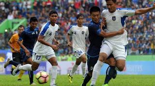 PSIS Semarang vs Arema FC 6-5 Piala Gubernur Kaltim 2018