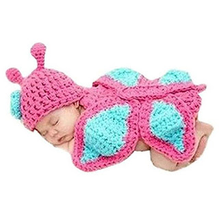 Baby Buterfly Crochet Costume