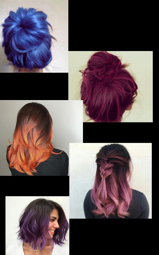 Inspirações de cabelos coloridos e onde encontrar a cor ideal