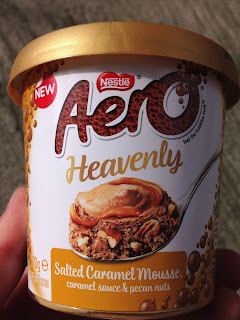 Nestle Aero Heavenly Salted Caramel Mousse
