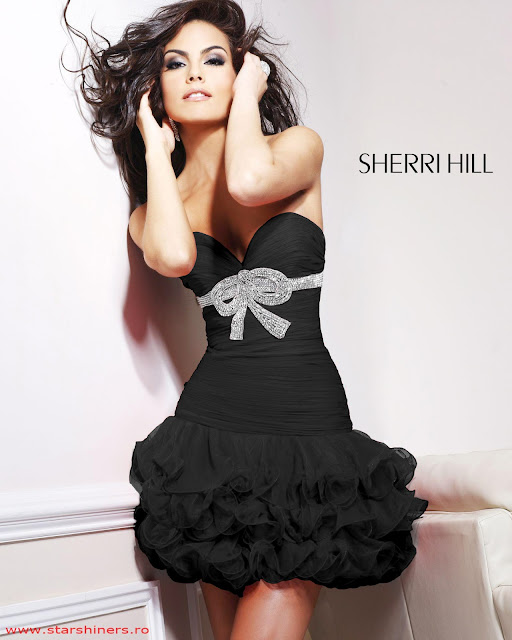 Rochie Sherri Hill Perfection Black
