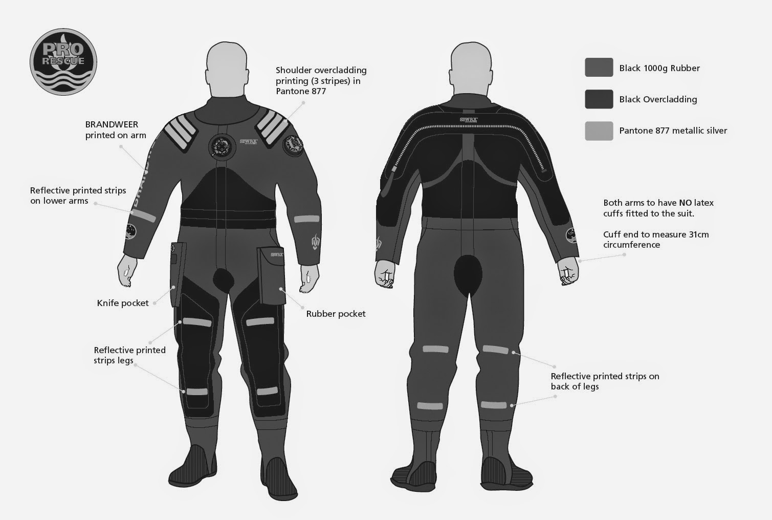 gravity zero rescue drysuit