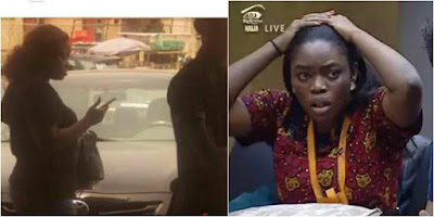#BBNaija Getting Hotter as Bisola's sister storms Unilag to share recharge cards