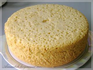 бисквит в кастрюле, бисквит для торта, выпечка, рецепты, советы, торты