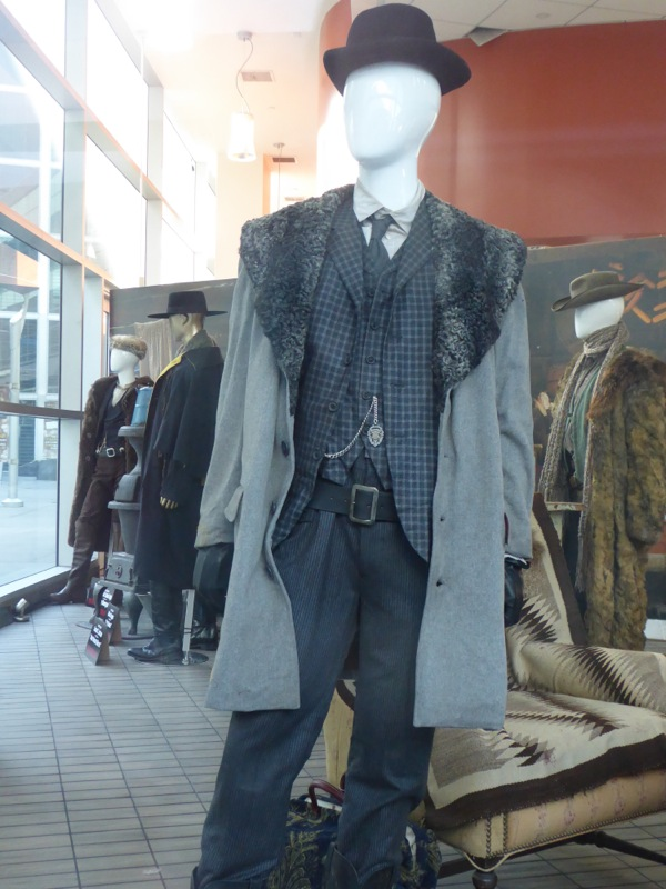 Oswaldo Mowbry costume Hateful Eight