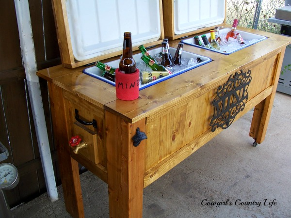 My Wooden Beer Cooler Build