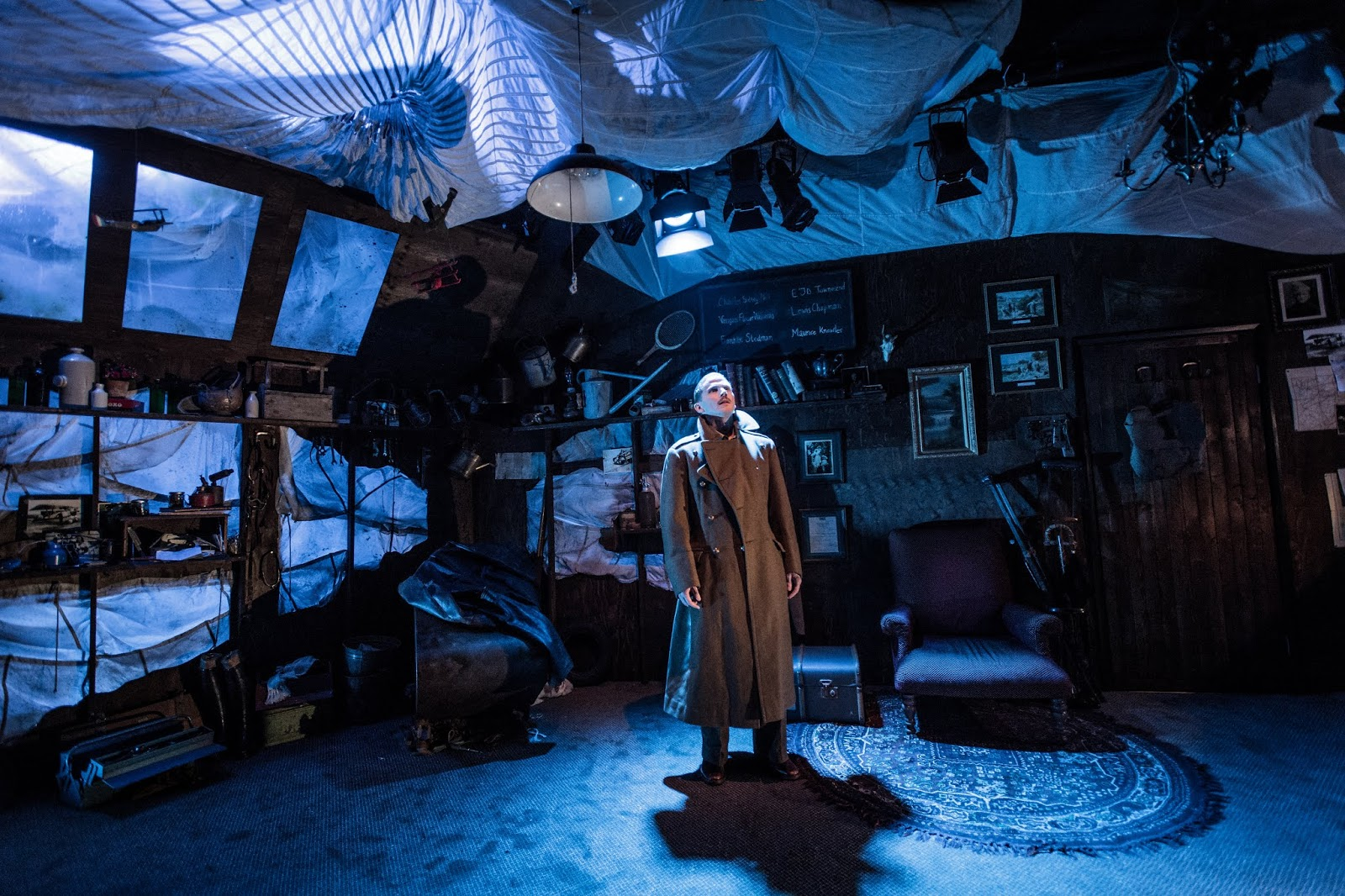Review Billy Bishop Goes To War At The Jermyn Street Theatre Pocket Size Theatre