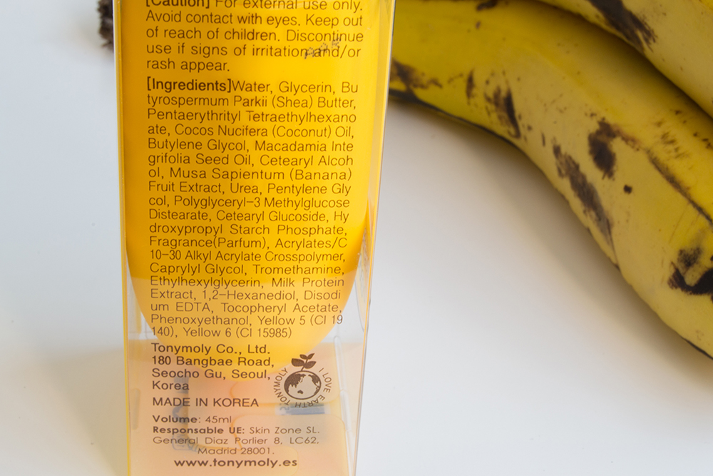 Magic Food Banana Hand Milk, TonyMoly