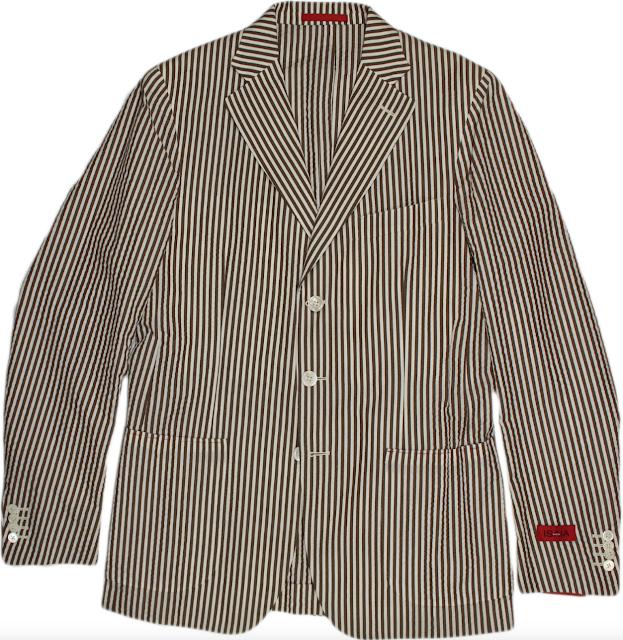 Isaia Seersucker Jacket